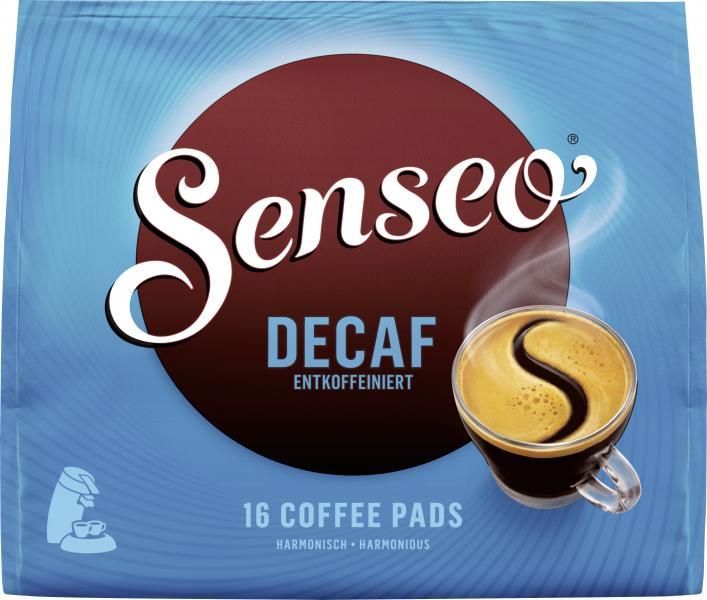 senseo kaffeepads decaf entkoffeiniert online kaufen bei. Black Bedroom Furniture Sets. Home Design Ideas