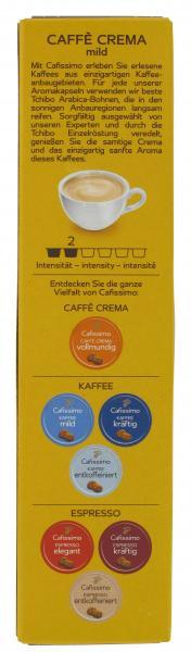 Tchibo Cafissimo Caffè Crema mild 10 Kapseln