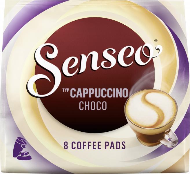Senseo Pads Cappuccino Choco, 8 Kaffeepads