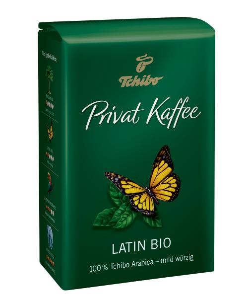 Tchibo Privat Kaffee Latin Bio ganze Bohne