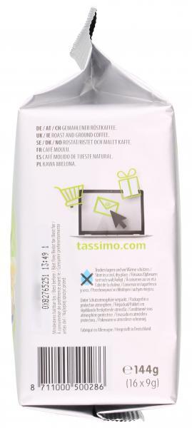 Tassimo Kapseln Jacobs Krönung XL, 16 Kaffeekapseln