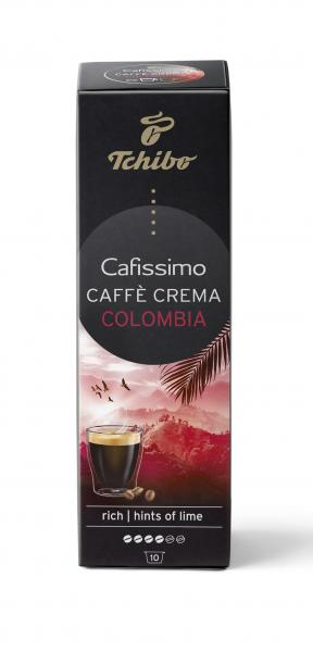 Tchibo Cafissimo Caffè Crema Colombia - 10 Kapseln