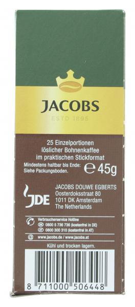 Jacobs Espresso Portions-Sticks