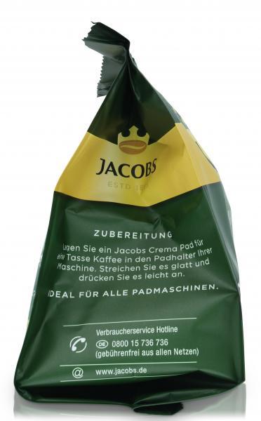 Jacobs Kaffeepads Crema Classic, 16 Senseo kompatible Pads