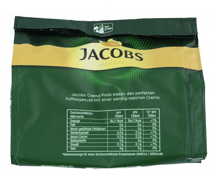 Jacobs Kaffeepads Crema Balance, 16 Senseo kompatible Pads