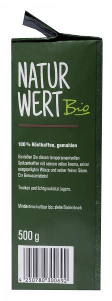 NaturWert Bio Spitzenkaffee