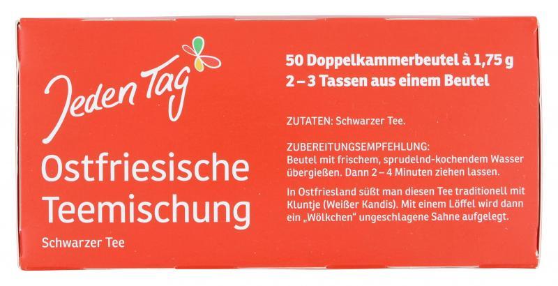 Jeden Tag Ostfriesische Teemischung