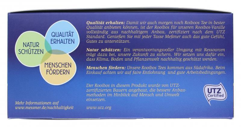 Meßmer Rooibos-Vanille