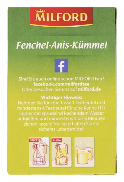 Milford Fenchel-Anis-Kümmel