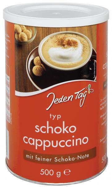 Jeden Tag Schoko Cappuccino