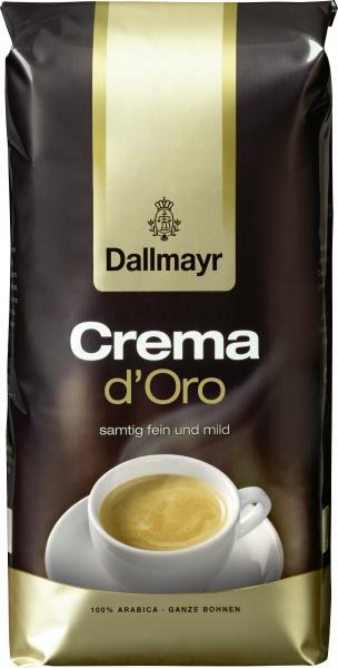 Dallmayr Crema D'Oro Ganze Bohnen