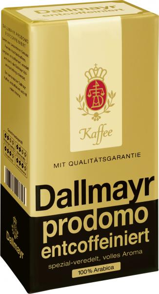 Dallmayr Prodomo Kaffee entcoffeiniert