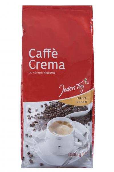 Jeden Tag Caffè Crema ganze Bohnen