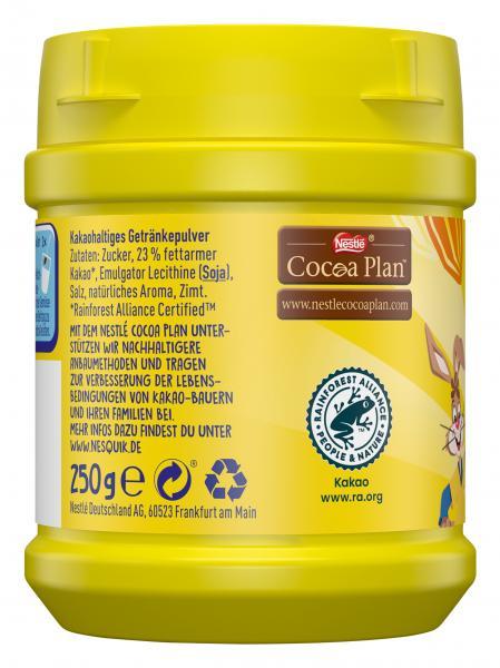 Nestlé Nesquik kakaohaltiges Getränkepulver