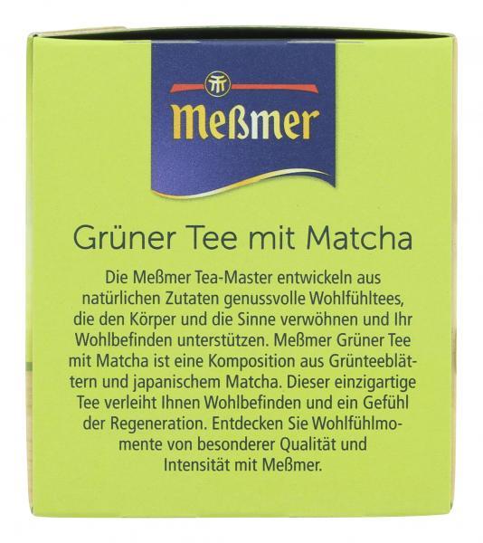 Meßmer Grüner Tee-Matcha