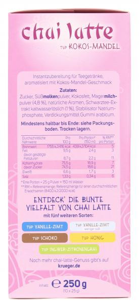Krüger Chai Latte Exotic India Kokos-Mandel