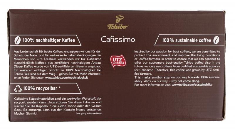 Tchibo Cafissimo Espresso kräftig - 96 Kapseln