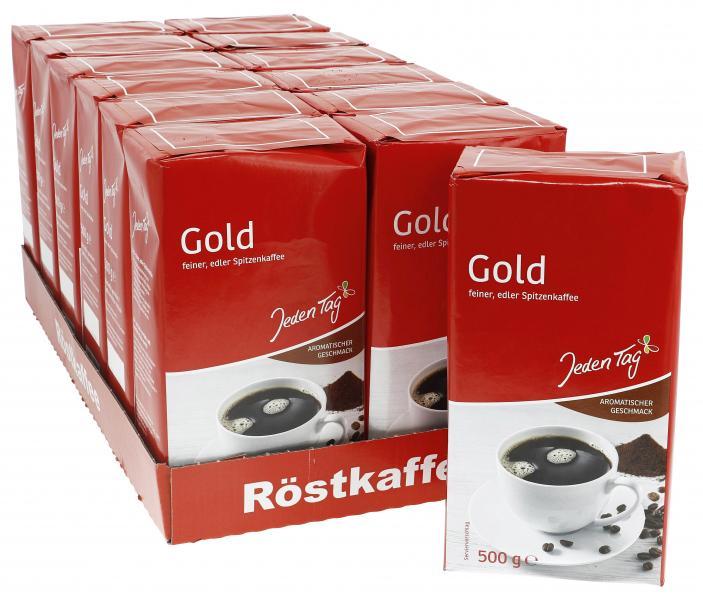 Jeden Tag Kaffee Gold