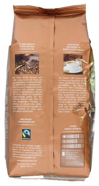 Tchibo Barista Caffè Crema - 1kg Ganze Bohne