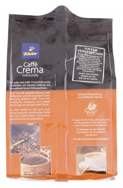 Tchibo Caffè Crema Vollmundig - 36 Pads