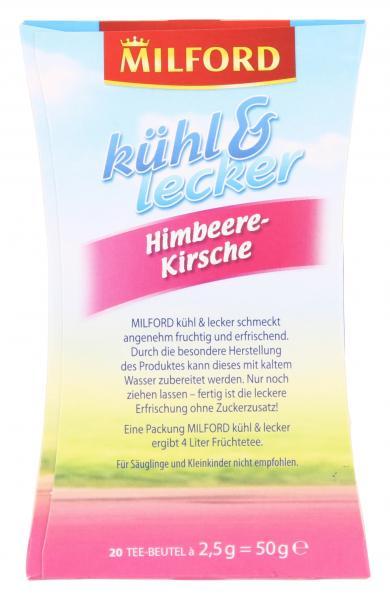 Milford kühl & lecker Himbeere-Kirsche