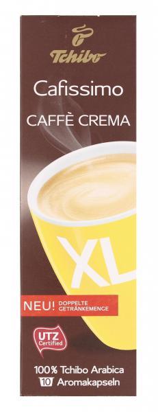 Tchibo Cafissimo Caffè Crema XL - 10 Kapseln
