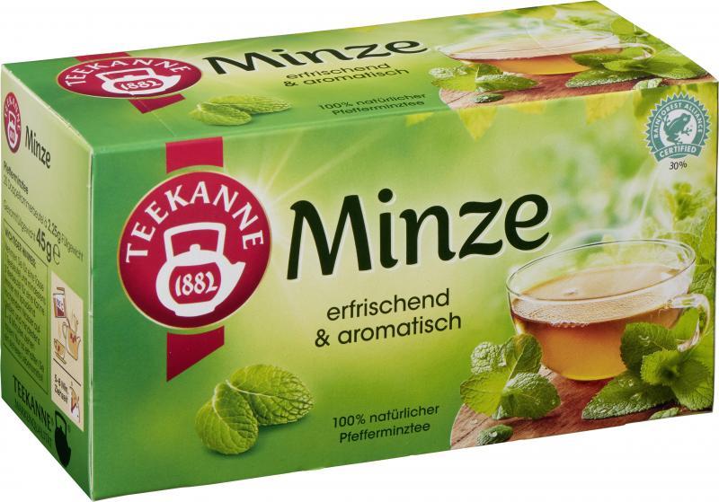 Teekanne Minze