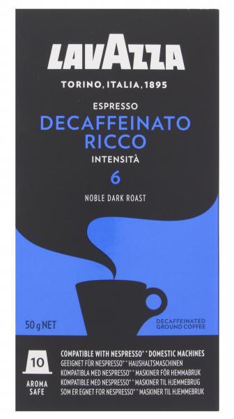 Lavazza Espresso Decaffeinato Ricco