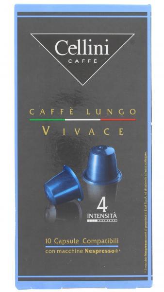 Cellini Kapseln Lungo Vivace