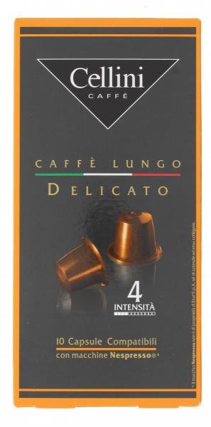 Cellini Kapseln Lungo Delicato