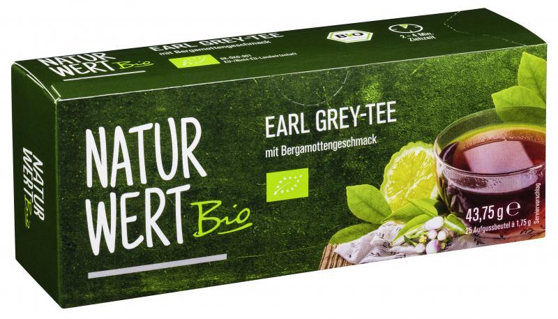 NaturWert Bio Earl Grey-Tee