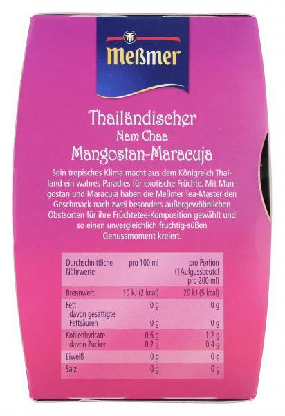 Meßmer Thailändischer Nam Chaa Mangostan-Maracuja