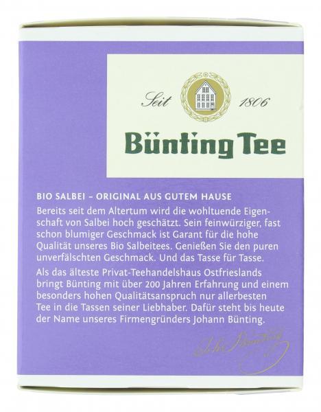 Bünting Tee Bio Salbei