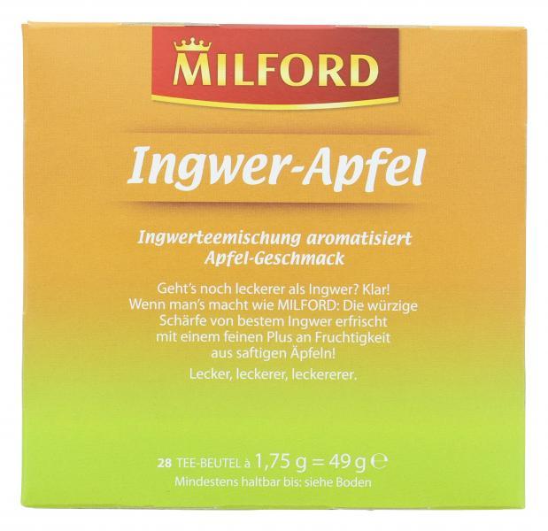 Milford Ingwer-Apfel