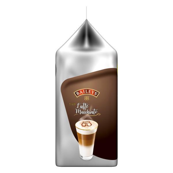 Tassimo Kapseln Typ Latte Macchiato Baileys, 8 Kaffeekapseln