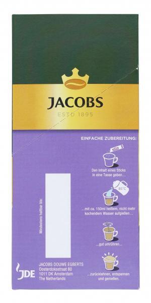 Jacobs Cappuccino Milka, 8 Sticks mit Instant Kaffee