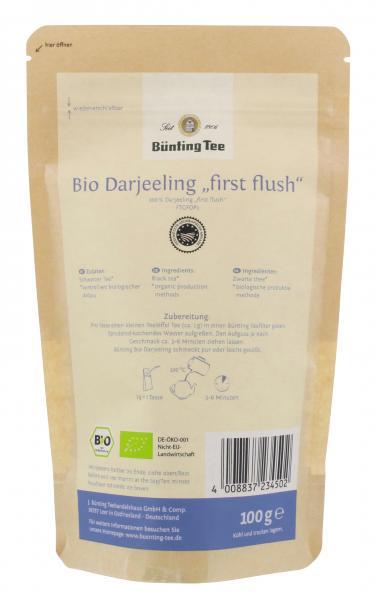 Bünting Bio Darjeeling First Flush