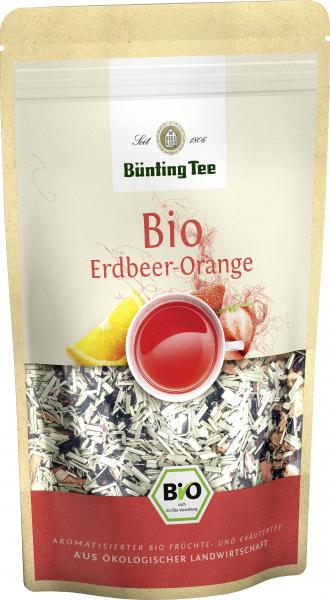 Bünting Bio Tee Erdbeer-Orange