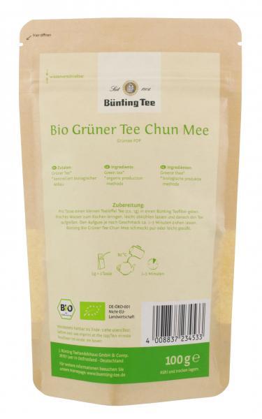 Bünting Bio Grüner Tee Chun Mee