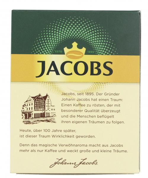 Jacobs löslicher Kaffee Café Crema, 25  Instant Kaffee Sticks