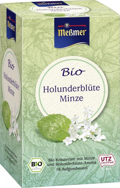 Meßmer Bio Holunderblüte Minze