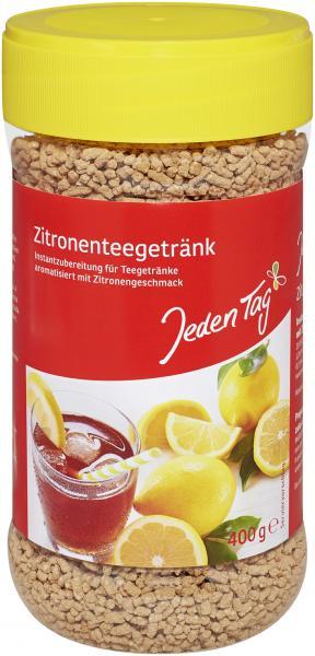 Jeden Tag Zitronentee-Getränk Instant