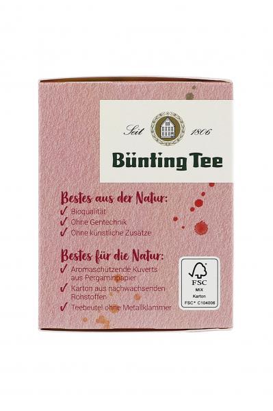 Bünting Tee Bio Holunderblüte Quitte