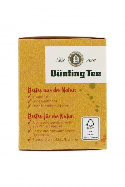 Bünting Tee Bio Orangenblüte mit Bergamotte