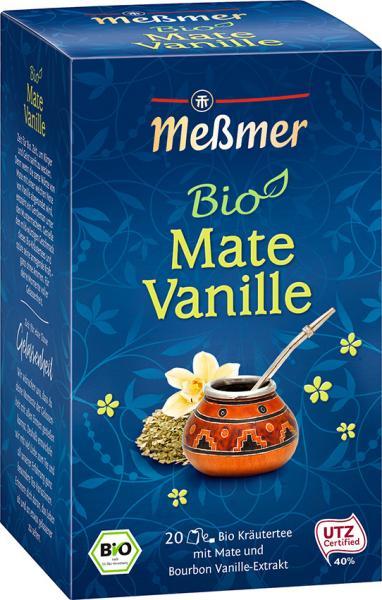 Meßmer Bio Mate-Vanille