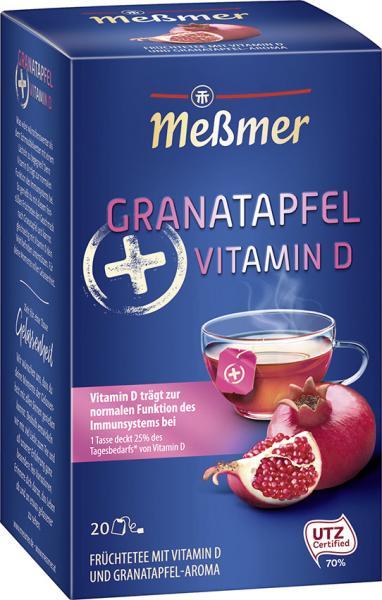 Meßmer Plus Vitamin D Granatapfel