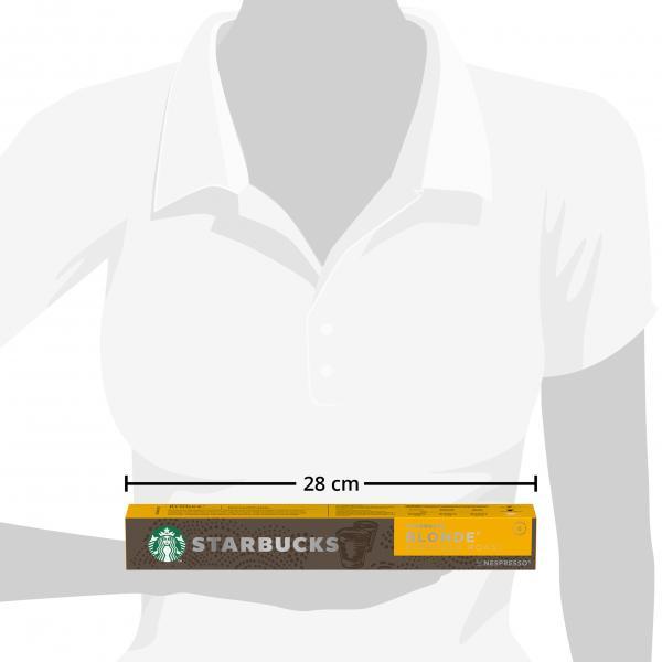 Starbucks by Nespresso Blonde Espresso Roast 10 Kapseln