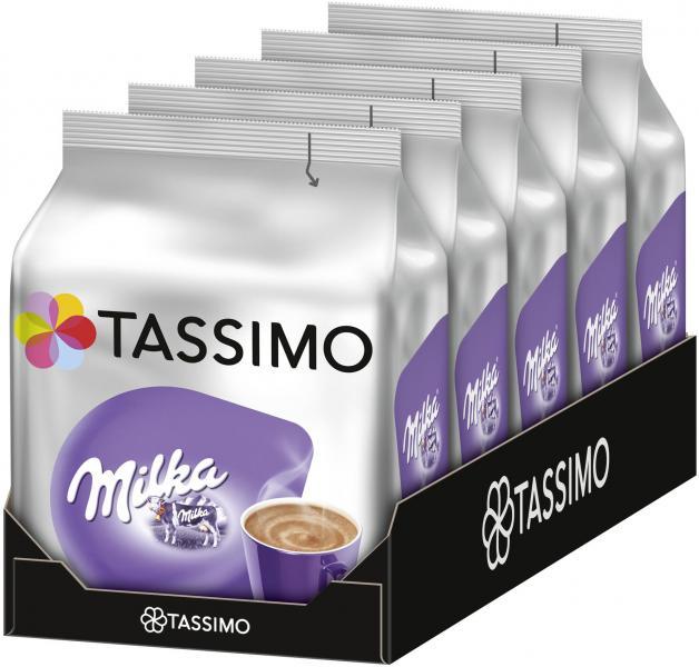 Tassimo Kapseln Milka, 5 x 8 Kakao Kapseln