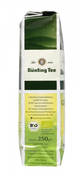 Bünting Bio Grüner Tee