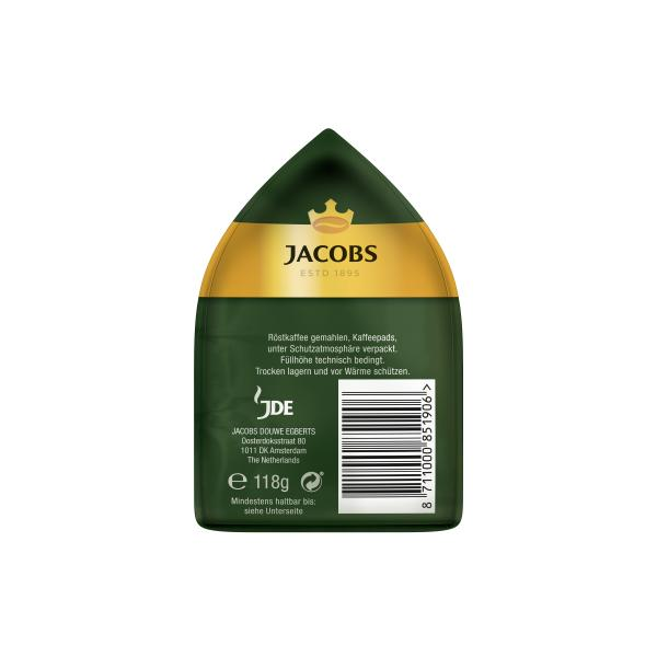 Jacobs Kaffeepads Crema Classic, 18 Senseo kompatible Pads